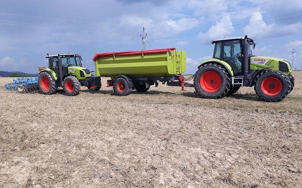 Jízda zemědělským traktorem- 1 osoba, 75 minut, 75 minut jízdy, počet osob: 1 osoba, Zlín - Fryšták (Zlínský kraj)5