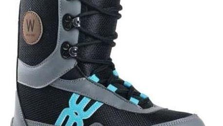 Snowboardové boty Westige Bufo black/gray/blue 30