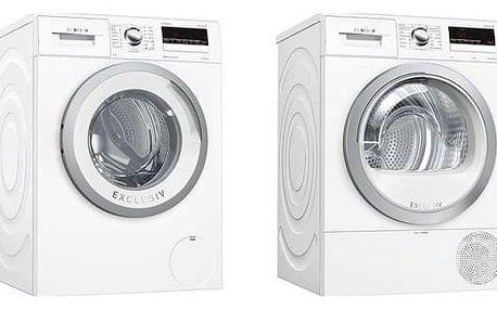 Set (Automatická pračka Bosch WAN28290BY) + (Sušička prádla Bosch WTR85V90BY) + DOPRAVA ZDARMA