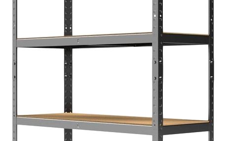 Kovový regál Standard II. 180x100x40 cm - 5 polic