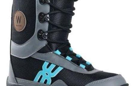 Snowboardové boty Westige Bufo black/gray/blue 32