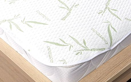 4Home Bamboo Chránič matrace s gumou, 180 x 200 cm