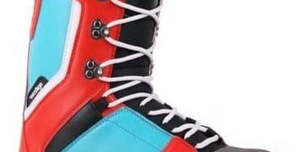 Snowboardové boty Westige Max Blue/Red 37