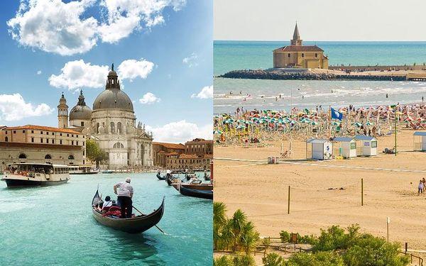 Zkrácená dovolená v Caorle s polopenzí + celodenní Benátky   5 denní zájezd + 2 noci s polopenzí