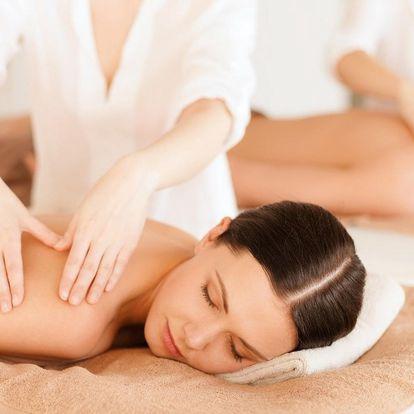 Párová masáž: Hodina božské relaxace pro 2