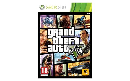Hra RockStar Xbox 360 Grand Theft Auto V (5026555258050)