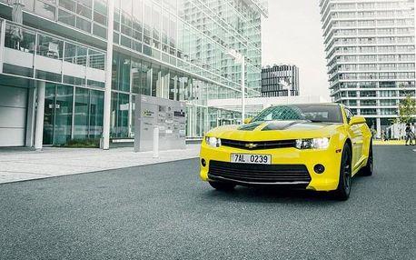Jízda v Chevroletu Camaro: jako spolujezdec či řidič