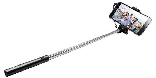 Selfie tyč FIXED Snap Mini - černá černá (FIXSS-SNM-BK)4