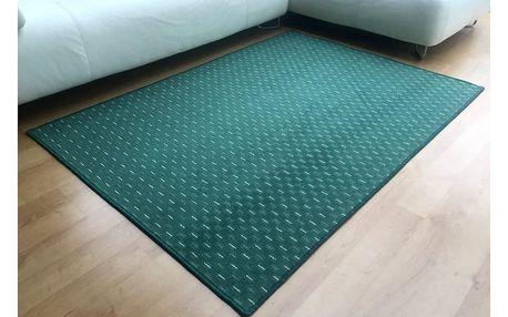 Vopi Kusový koberec Valencia zelená, 140 x 200 cm