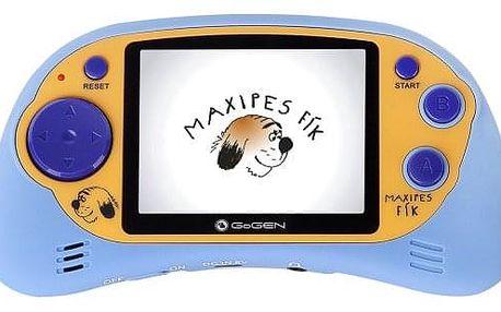 Herní konzole GoGEN Maxipes Fík MAXI HRY 150 B modrá