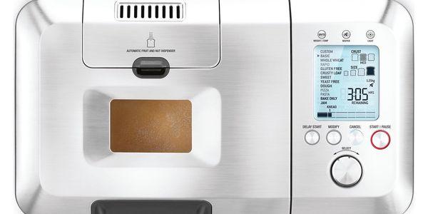 Domácí pekárna SAGE BBM800 stříbrná3