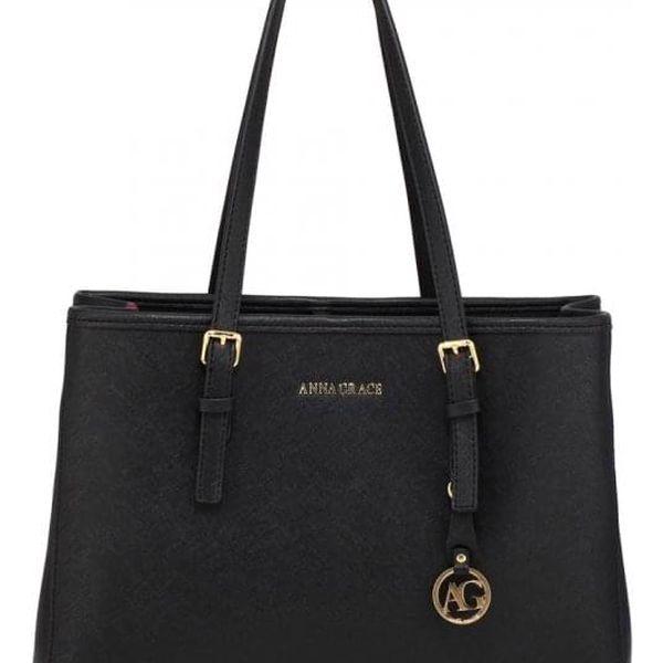 Dámská černá kabelka Angelika 571