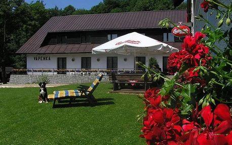 Last minute letní pobyt v krkonošském penzionu Vápenka s wellness v ceně pobytu!