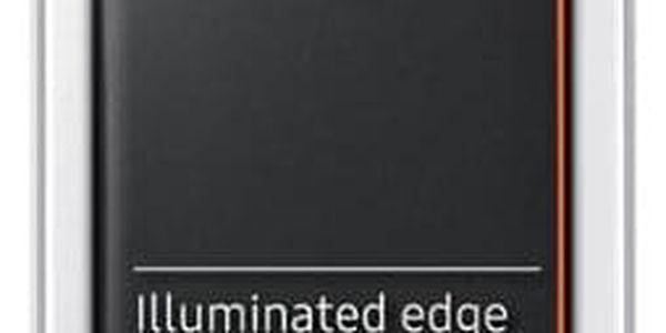 Pouzdro na mobil flipové Samsung Neon flip pro Galaxy A3 2017 černé (EF-FA320PBEGWW)4
