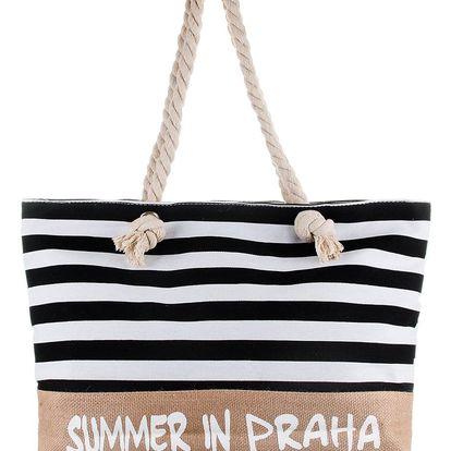 Fashion Icon Dámská plážová taška pruhovaná PY0021-19