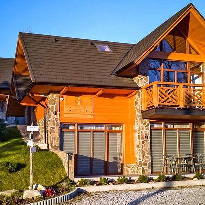 Luxusní domky v Zakopaném s výhledem na Tatry