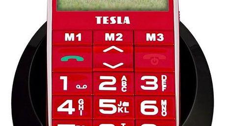 Mobilní telefon Tesla SimplePhone A50 (TAMBPSNA50RD) červený