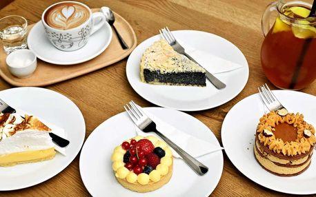 Dezert dle výběru s kávou nebo čajem pro 1 i 2