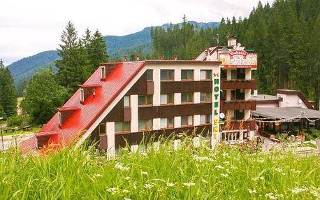 Nízké Tatry v Hotelu SKI se snídaní, wellness, Liptov Card + dítě zdarma