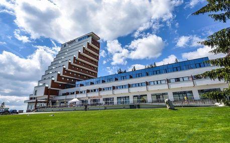 Relax u Štrbského plesa v hotelu Panorama**** s wellness a polopenzí