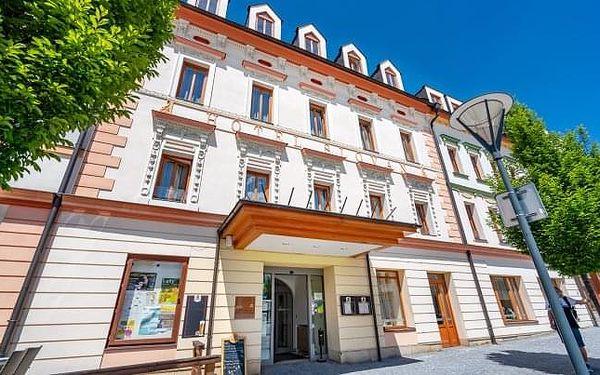 Jeseníky v oceněném Hotelu Slovan **** s polopenzí a gurmánským menu