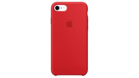 Kryt na mobil Apple Silicone Case pro iPhone 8/7 (PRODUCT)RED červený (MQGP2ZM/A)