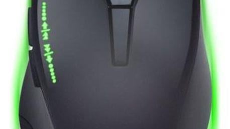 Myš Connect IT Battle Rainbow černá (/ optická / 6 tlačítek / 3200dpi) (CI-1128)
