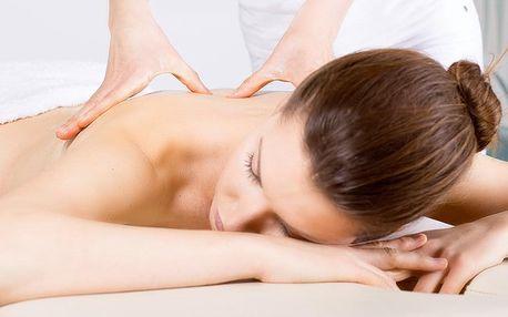 60minutová masáž: zdravotní nebo lymfatická