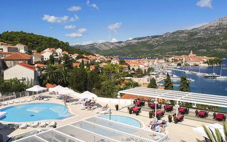4* hotel na Korčule: bazény neomezeně, polopenze