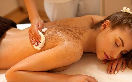 Peeling nebo masáž pro očistu těla i relax