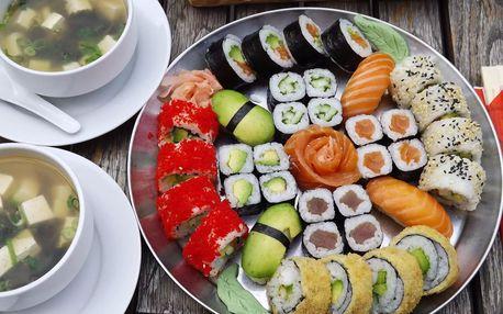 Pestré sushi sety s sebou - výběr z pěti různých variant