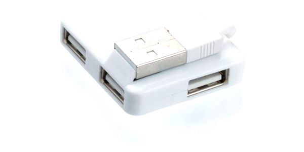 USB Hub Connect IT USB 2.0 / 4x USB 2.0 bílý (CI-52)2