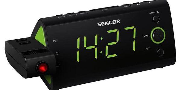 Radiobudík Sencor SRC 330 GN černý/zelený2
