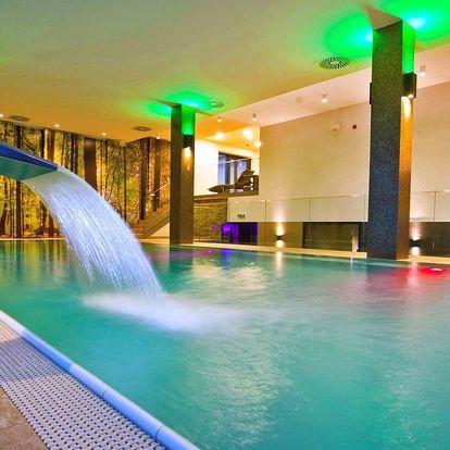 Wellness odpočinek ve 4* hotelu v Tatrách pro dva
