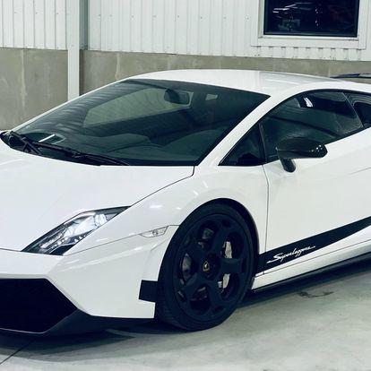 Jízda v Lamborghini Gallardo 570-4