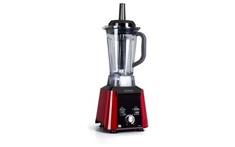Stolní mixér G21 Blender Perfect smoothie Vitality red červený + dárek Příslušenství k robotům G21 Kniha Secret of Raw Sladká rawmance v hodnotě 490 Kč + DOPRAVA ZDARMA