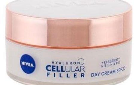 Nivea Hyaluron CELLular Filler Reshape SPF30 50 ml remodelační krém s ochranným faktorem pro ženy
