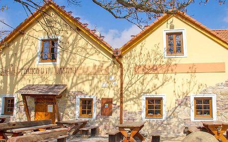 3 dny vína a relaxu u Znojma: jídlo a sauna