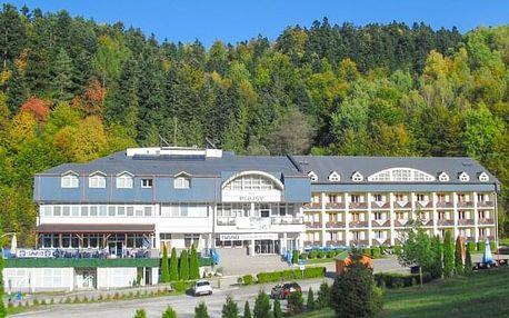 Slovenský ráj v Hotelu Plejsy *** s polopenzí a bohatým neomezeným wellness