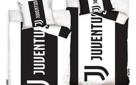 BedTex Bavlněné povlečení FC Juventus Doppio, 140 x 200 cm, 70 x 90 cm