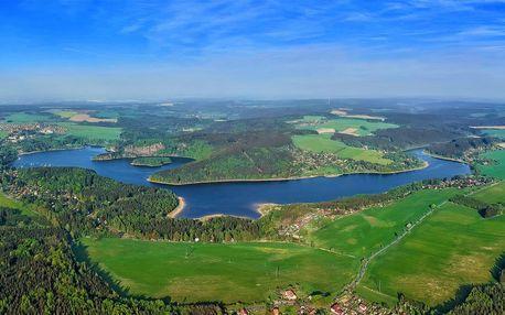 Pobyt s polopenzí v blízkosti Sečské přehrady