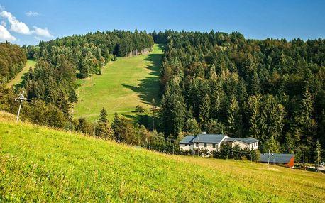Slovenské Beskydy: pobyt s polopenzí a wellness