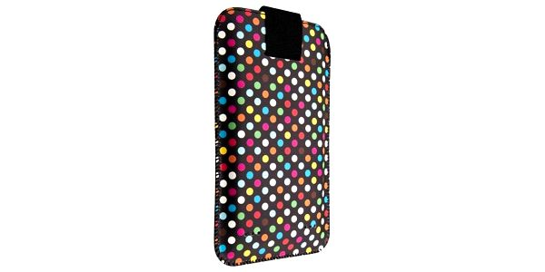 Pouzdro na mobil FIXED Soft Slim, 6XL - Rainbow Dots (FIXSOS-RAD-6XL)2