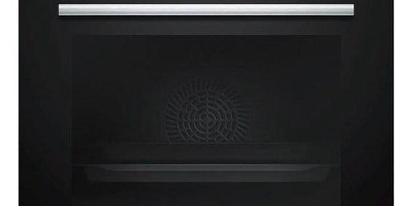 Siemens HB578G5S0 černá/nerez