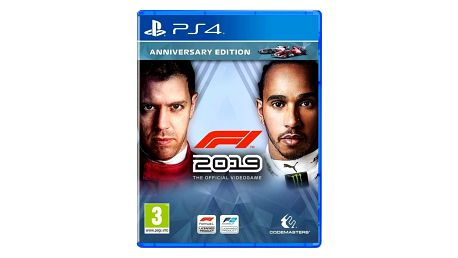 Hra Codemasters PlayStation 4 F1 2019 Anniversary Edition (4020628747008)