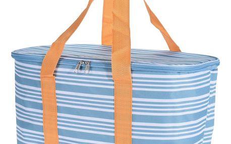 Koopman Chladicí taška Wintry modrá, 37 x 20 x 26 cm