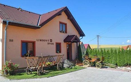 Vysoké Tatry v Penzionu Limbový dvor se snídaní, vínem a slevami do aquaparků