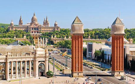 Španělsko - Barcelona letecky na 4-5 dnů, snídaně v ceně