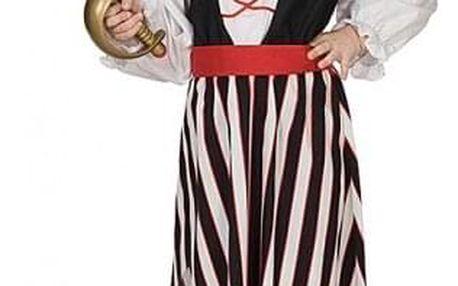 Karnevalový kostým pirátka