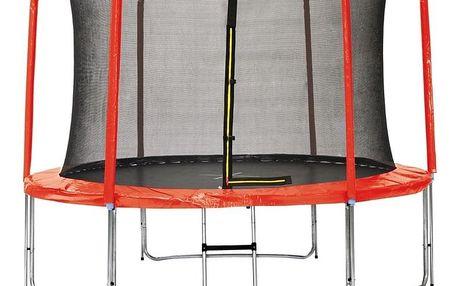 Marimex   Sada krytu pružin a rukávů pro trampolínu 305 cm - červená   19000774